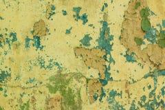 Oude vuile de muurachtergrond van de schilverf Stock Foto