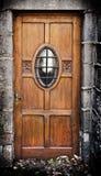 Oude vuile deur Stock Afbeeldingen