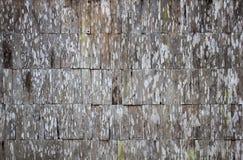 Oude vuile houten muurtextuur voor achtergrond Royalty-vrije Stock Foto's