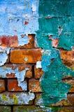 Oude vuile muur Stock Foto's