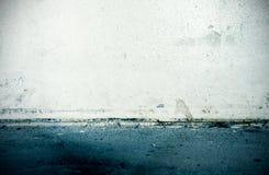 Oude vuile muur, grunge binnenland Royalty-vrije Stock Foto's