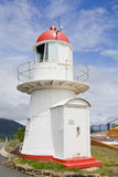 Oude vuurtoren Cooktown stock foto