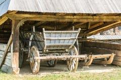Oude wagen stock fotografie