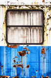 Oude wagen stock afbeelding