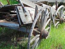 Oude wagen stock foto's