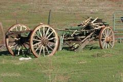 Oude Wagen Stock Afbeeldingen