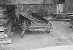 Oude wagen Royalty-vrije Stock Afbeeldingen