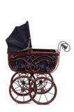 Oude wandelwagen royalty-vrije stock afbeeldingen