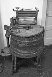 Oude Wasmachine stock fotografie