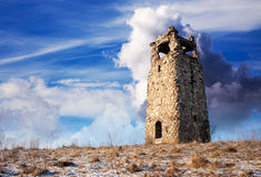 Oude Watchtower stock afbeeldingen