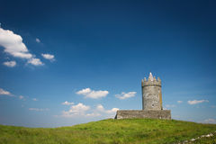 Oude Watchtower, Galway, Ierland Royalty-vrije Stock Foto