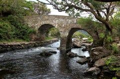 Oude Waterkeringsbrug Royalty-vrije Stock Foto's