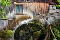 Oude watermill in Transsylvanië Royalty-vrije Stock Fotografie