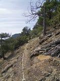 Oude waterpijpen in de bergen. Royalty-vrije Stock Afbeeldingen