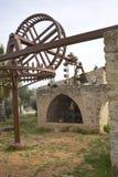 Oude waterpomp Binyamina stock fotografie