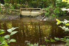 Oude waterpoort Stock Foto