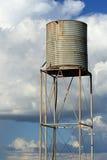 Oude watertank Stock Afbeeldingen