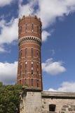 Oude watertoren in Kalmar in Zweden Royalty-vrije Stock Afbeeldingen
