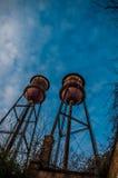 Oude Watertorens royalty-vrije stock afbeelding