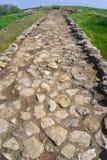 Oude weg Stock Afbeelding