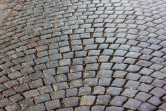 Oude weg Stock Foto's