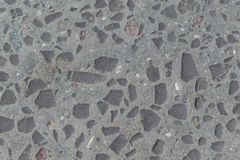 Oude weg die met stenen of cobbles wordt bedekt Royalty-vrije Stock Afbeelding