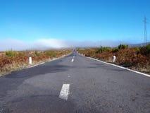 Oude weg in Madera Stock Foto