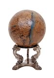 Oude wereldbol Stock Afbeelding
