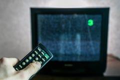 Oude werkende niet TV royalty-vrije stock fotografie