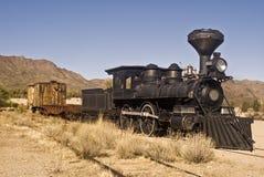 Oude Westelijke Trein Royalty-vrije Stock Afbeelding