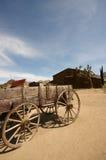 Oude Westelijke Wagen Stock Foto