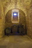 Oude wijnkelder in sveta Trojica Stock Fotografie