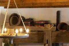 oude wijnpers in Moor, Hongarije royalty-vrije stock foto's