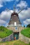 Oude windmolen Stock Foto