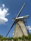 Oude windmolen. stock afbeelding