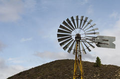 Oude windmolen stock fotografie