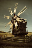 Oude Windmolen Stock Afbeeldingen
