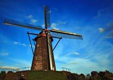 Oude windmolen in Leveroy Royalty-vrije Stock Fotografie
