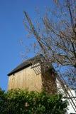 Oude Windmolen Montmartre Parijs Frankrijk Stock Fotografie
