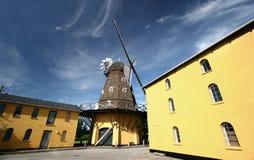 Oude windmolens Stock Afbeelding