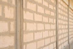 Oude witte baksteen Stock Afbeeldingen