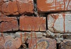 Oude witte bakstenen muurachtergrond royalty-vrije stock foto