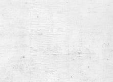 Oude witte grungy houten muur, textuur stock afbeelding