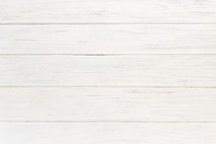 Oude witte houten achtergrond stock foto