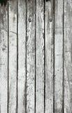 Oude witte houten planken Stock Foto