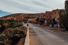 Oude Woestijnstad Marokko Royalty-vrije Stock Foto's