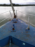 Oude wrakboot Royalty-vrije Stock Afbeelding