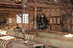 Oude zaagmolen Stock Foto
