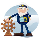 Oude zeeman Stock Foto's