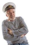 Oude zeemansmens Stock Foto's